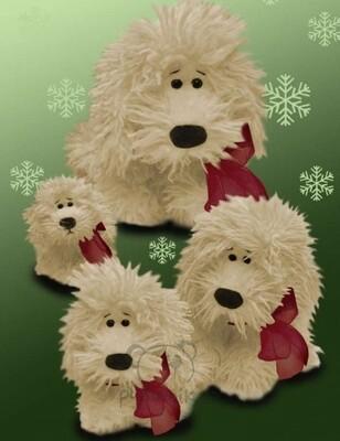 Plyšová hračka: JUMBO pes Curly plyšový | Russ Berrie