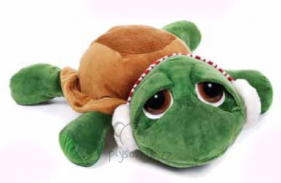 Plyšová hračka: JUMBO Vánoční želva Shecky plyšová | Russ Berrie
