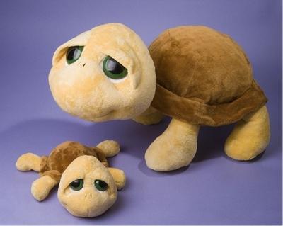 Plyšová hračka: JUMBO želva Shelly plyšová | Russ Berrie