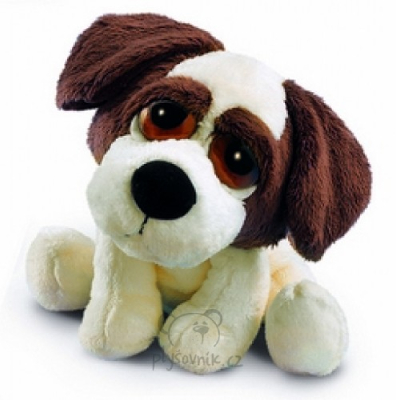 Plyšová hračka: Klíčenka pes Dixie plyšová | Russ Berrie