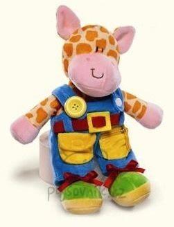 Plyšová hračka: Knoflíková žirafka plyšový | Russ Berrie