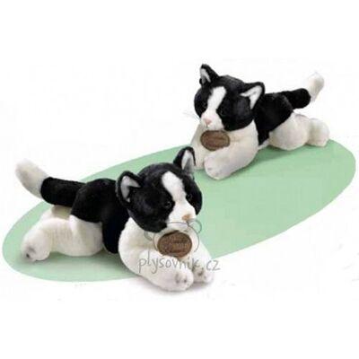 Plyšová hračka: Kočka bílo-černá plyšová | Russ Berrie