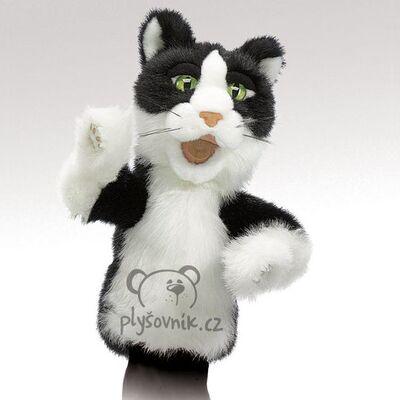 Plyšová hračka: Kocour Tom na ruku  plyšák | Folkmanis