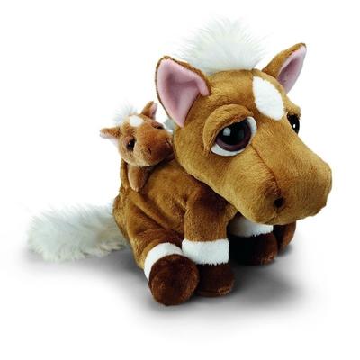 Plyšová hračka: Koník Herkules s miminkem plyšový | Russ Berrie