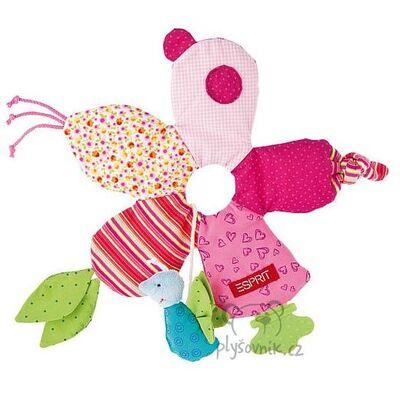 Plyšová hračka: Kousátko pro miminko kytička plyšák | ESPRIT