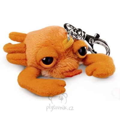 Plyšová hračka: Krab Claws klíčenka plyšová | Russ Berrie