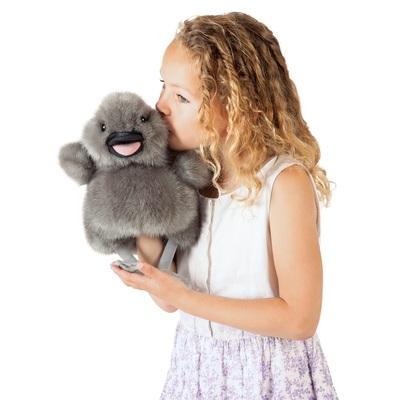 Plyšová hračka: Labuť mládě plyšový | Folkmanis