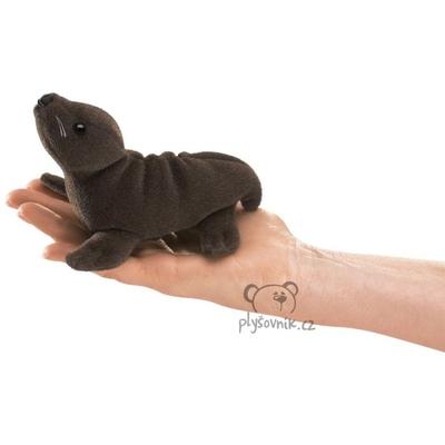 Plyšová hračka: Lachtan na prst plyšový | Folkmanis