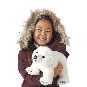 Plyšová hračka: Lední medvěd mládě plyšový | Folkmanis