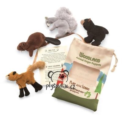 Plyšová hračka: Lesní zvířatka plyšový | Folkmanis