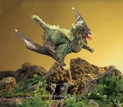 Plyšová hračka: Letající  drak plyšový | Folkmanis