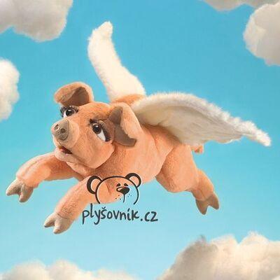 Plyšová hračka: Létající prasátko plyšák   Folkmanis