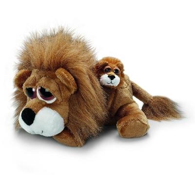 Plyšová hračka: Lev Carnie s miminkem plyšový | Russ Berrie