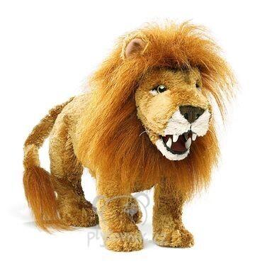 Plyšová hračka: Lev menší plyšový | Folkmanis