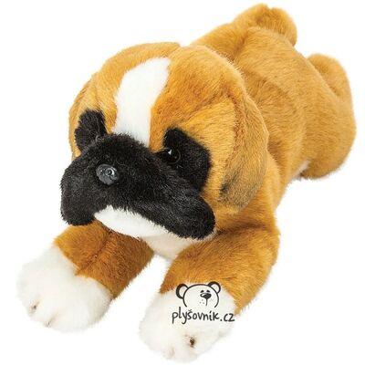 Plyšová hračka: Ležící boxer Yomiko plyšový | Suki Gifts