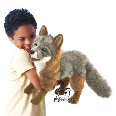 Plyšová hračka: Liška šedá plyšová | Folkmanis