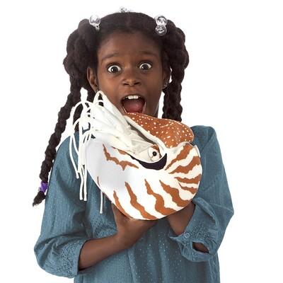 Plyšová hračka: Loděnka hlubinná Nautilus plyšák | Folkmanis