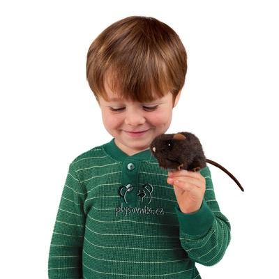 Plyšová hračka: Malá hnědá myš plyšový | Folkmanis