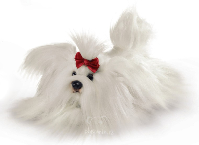 Plyšová hračka: Maltézský psík plyšový | Russ Berrie