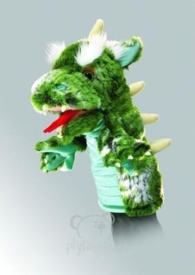 Plyšová hračka: Maňásek drak plyšový | Folkmanis