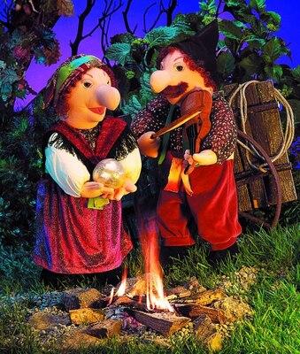 Plyšová hračka: Maňásek houslista plyšový | Folkmanis