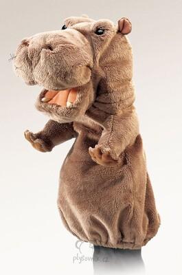 Plyšová hračka: Maňásek hroch plyšový | Folkmanis