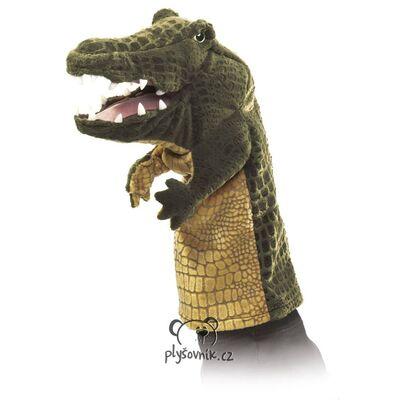 Plyšová hračka: Maňásek krokodýl plyšový | Folkmanis
