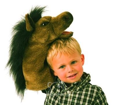 Plyšová hračka: Maňásek kůň plyšový | Folkmanis