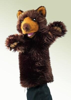 Plyšová hračka: Maňásek medvěd plyšový | Folkmanis
