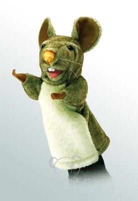 Plyšová hračka: Maňásek myš plyšová | Folkmanis