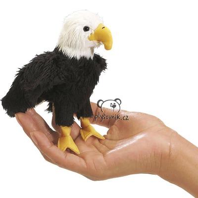 Plyšová hračka: Maňásek na prst orel plyšový | Folkmanis