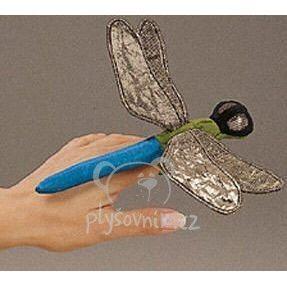 Plyšová hračka: Maňásek na prst vážka 1+2 ZDARMA plyšová | Folkmanis