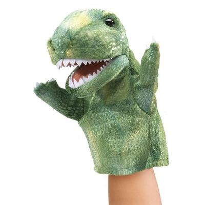 Plyšová hračka: Maňásek tyrannosaurus rex plyšový   Folkmanis