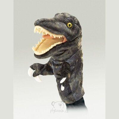 Plyšová hračka: Maňásek tyranosaurus plyšový | Folkmanis