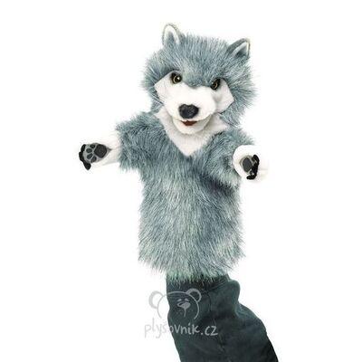 Plyšová hračka: Maňásek vlk plyšový | Folkmanis