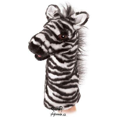 Plyšová hračka: Maňásek zebra plyšová | Folkmanis