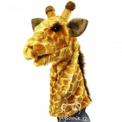 Plyšová hračka: Maňásek žirafa plyšová | Folkmanis