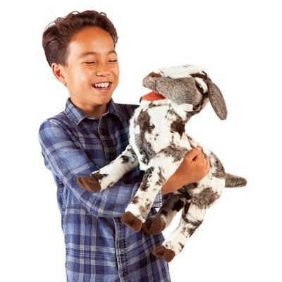 Plyšová hračka: Mečící koza Meme plyšová | Folkmanis