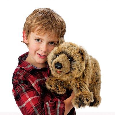 Plyšová hračka: Medvěd grizly plyšový | Folkmanis