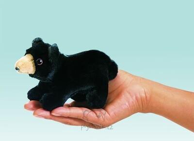 Plyšová hračka: Medvěd na prst plyšový | Folkmanis