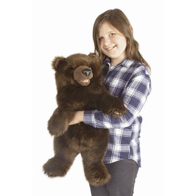 Plyšová hračka: Medvěd stojící plyšový | Folkmanis