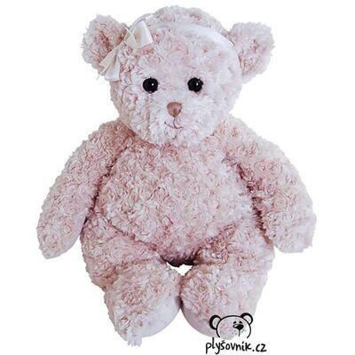 Plyšová hračka: Medvídek Pola se světlou mašlí plyšák | Bukowski