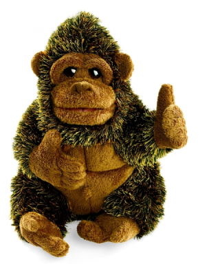 Plyšová hračka: Menší gorila plyšová | Folkmanis