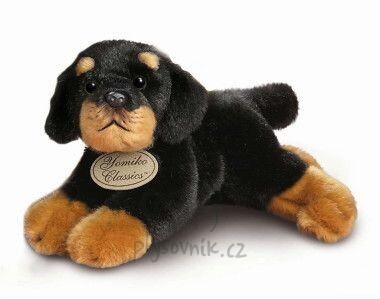 Plyšová hračka: Menší rottweiler plyšový | Russ Berrie