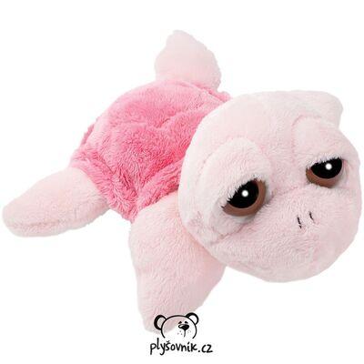 Plyšová hračka: Menší růžová želva Coral plyšová | Suki Gifts