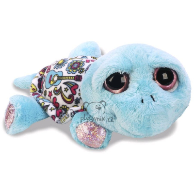 Plyšová hračka: Modrá želva Rainbow plyšová | Russ Berrie