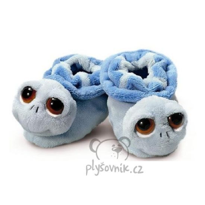 Plyšová hračka: Modré dětské botičky plyšové | Russ Berrie