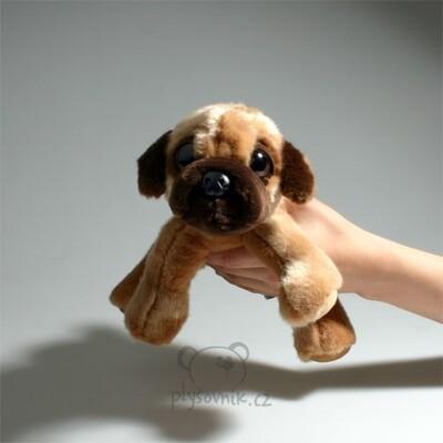 Plyšová hračka: Mops Sukey menší plyšový | Russ Berrie