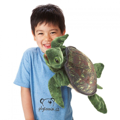 Plyšová hračka: Mořská želva plyšový | Folkmanis