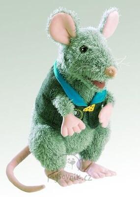Plyšová hračka: Myš s vestou plyšová | Folkmanis
